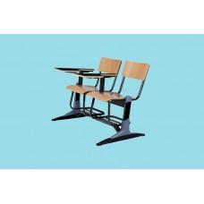 صندلی دانشجویی mdf دو نفره