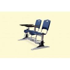 صندلی دانشجویی فایبرگلاس دو نفره