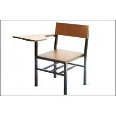 صندلی دانشجویی mdf دسته دار
